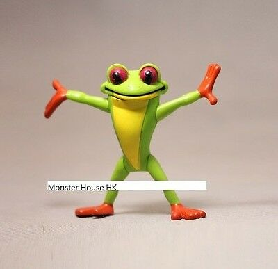 Cartoon Animal Red Eyed Tree Frog Toad Frogs PVC Action Figurine Figure