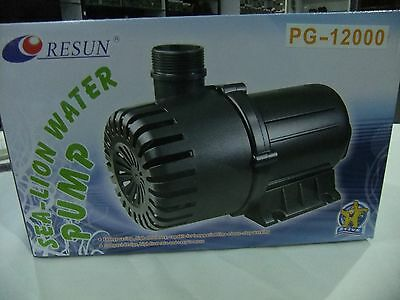 Resun Sea Lion Water Pump 12000L/Hr for Large Waterfall or BigFiltration PG12000