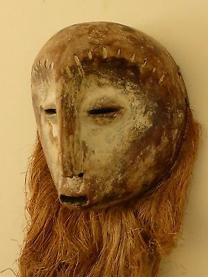 Antique African Tribal Ethnographic Large Wood  Mask Very Impressive Collection