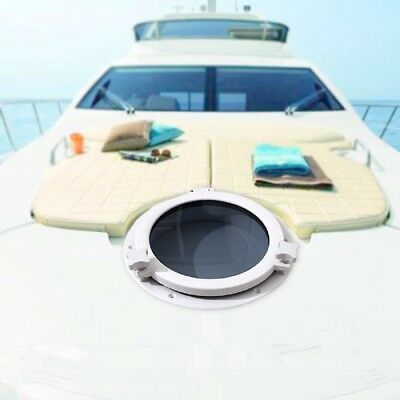 "Boat Yacht Round Opening Portlight Porthole 10"" Replacement Window Port Hole"