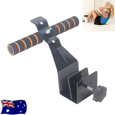 Pull Ups Sit Up Bar Doorway Under Door Attach Stand Abs Muscle Training Fitness