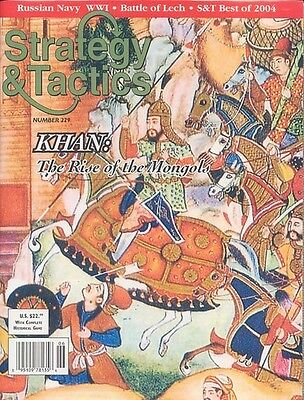 Strategy & Tactics 229 - Khan: The Rise Of The Mongols - Mint And Unpunched