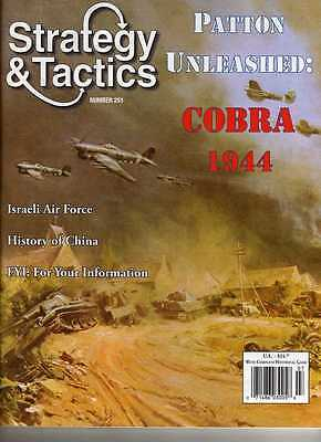 Strategy & Tactics 251 - Patton Unleashed: Cobra 1944 - Mint And Unpunched