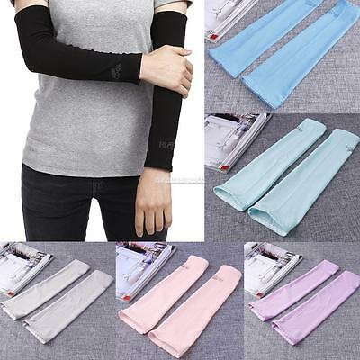New Women Outdoor Sports Skins Arm Sleeves Sun Protective Cover FV88