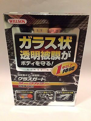 for Dark Color Large Car 140ml WILLSON CAR BODY GLASS GUARD Coating Care  Japan