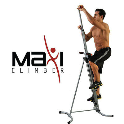 Maxi Climber Vertical Stepper Home Adjustable Fitness Workout Exercise Machine