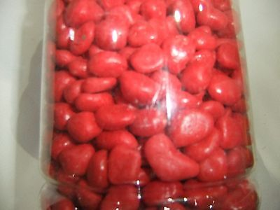 Red  Color Aquarium Gravel 2kg CG-02RE