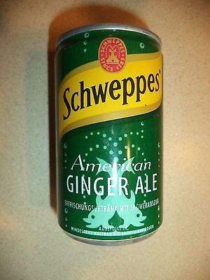 VINTAGE- year 2000 can of SCHWEPPES American Ginger Ale!  From London in 2000