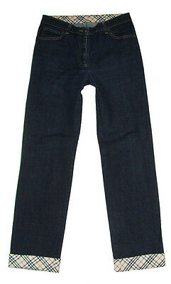 Women's Burberry Jeans Donna Pants Pant Blu Vintage 29 USA 42/44 MADE IN ITALY