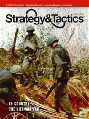 Strategy & Tactics 281 - In Country: The Vietnam War - Mint And Unpunched
