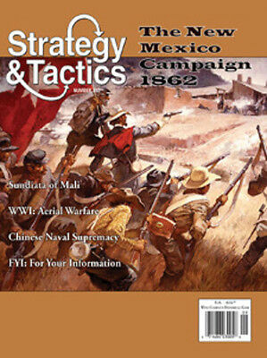 Strategy & Tactics 252 - The New Mexico Campaign 1862 - Mint And Unpunched