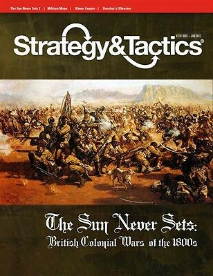 Strategy & Tactics 274 - The Sun Never Sets - Mint And Unpunched