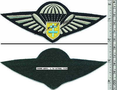 FREE FRENCH FORCES WWII PARACHUTE WINGS BULK-DEALERS LOT of 5