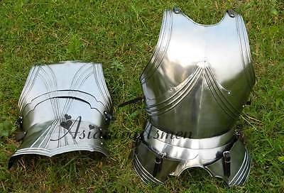 Medieval Muscle Roman Metal Armor Breastplate Breast Plate Roman Historical
