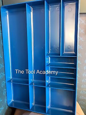MECHANIC DIY STORAGE TRAY ORGANISER 405mm SLOT AND HOLDER STURDY PLASTIC
