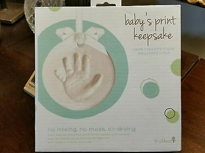 Baby's Hand Print Keepsake New In Box Unique Gift Idea