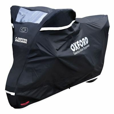 Oxford Stormex Motorcycle Motorbike Waterproof All Weather Cover Large New