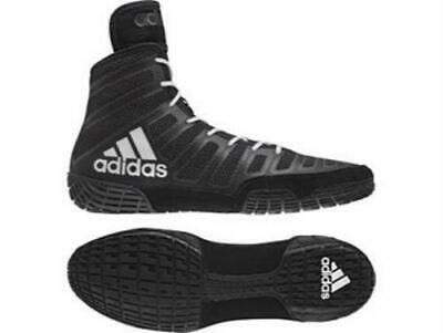 Adidas Wrestling Varner Black White Boots Shoes Adults - BA8020