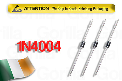 NEW 1N4004 Diodes Rectifier 1n4004 400v 1A Pack of 10