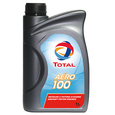 Total Aero 100 - Aircraft Oil For Piston Engines