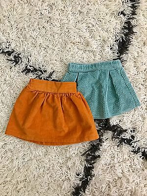 WILLABY CLOTHIER 2 Corduroy Baby skirts Ethical Handmade clothes mabo 12M