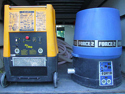wasp and force 2 insulation blower blowing machine + free dilivery