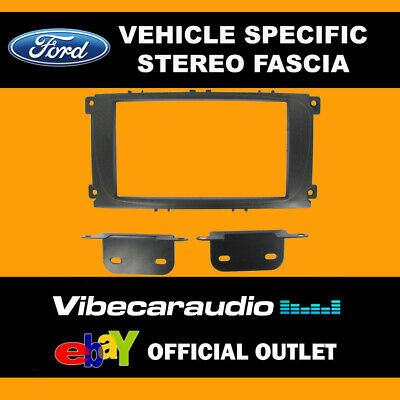 Ford Focus 2007 - Double Din Stereo Fascia Panel Adaptor CT23FD07