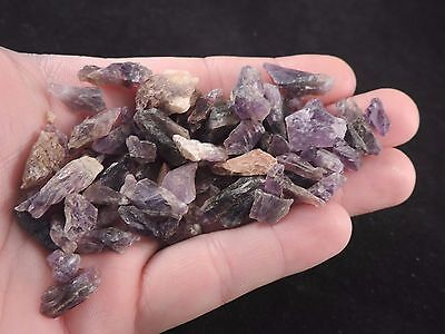 Amethyst Crystal LOT of Several Dozen Mineral Specimens, Zamibia