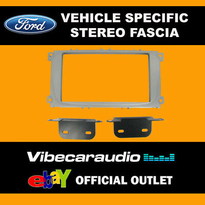 Ford S-Max 2007 - Double Din Stereo Fascia Panel Adaptor CT23FD08