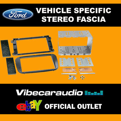 Ford C-Max 2007 - 2010 Double Din Stereo Fascia Panel Adaptor CT23FD10