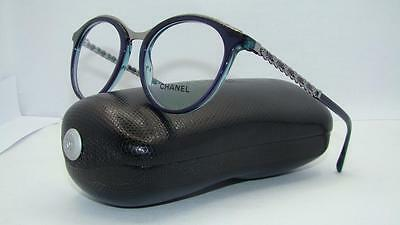 CHANEL 3349 Q 1576 Top Shot Violet Glasses Eyeglasses Frames Size 51