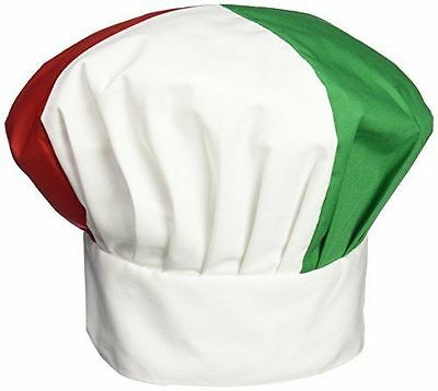 Italian Chef Hat Cotton Blend Adjustable Velcro® Closure FREE SHIP USA ONLY