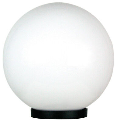 NEW Large Galactic Opal Acrylic Post Top Light Oriel Outdoor Lighting