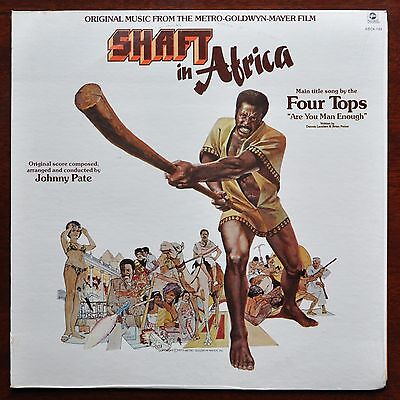 ORIGINAL SOUNDTRACK  Johnny Pate	Shaft In Africa	ABC ABCX-793  USA 1973