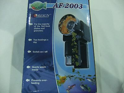 Resun Auto Fish  Feeder Battery Operated AF-2003