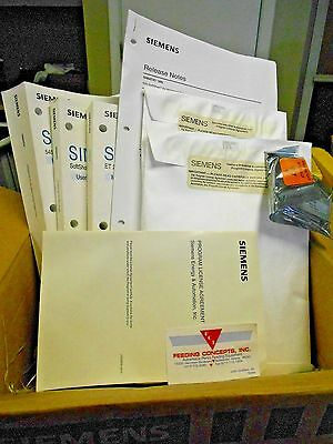 Siemens Software Lic. Ss505-6201 505-6201 + Manuals Comprofibus New In Box!!