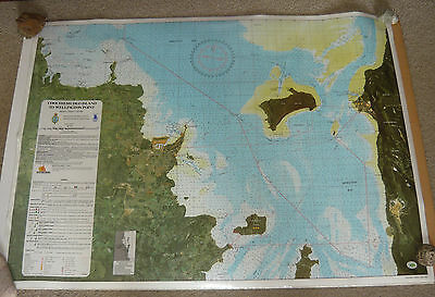 EXPO88 Moreton Bay Navigation Chart Coochiemudlo Wellington Point Small Boat Map