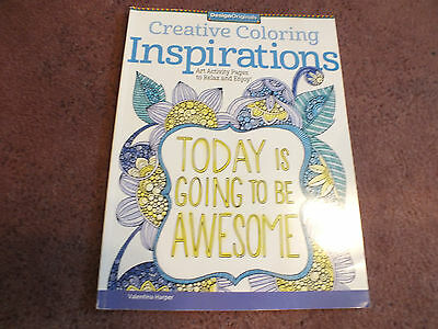 Design Originals Inspirations Adult Coloring Book 28 Pages to Color NICE