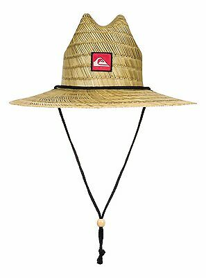 Quiksilver™ Pierside - Straw Lifeguard Hat - Boys 2-7 - ONE SIZE - Yellow