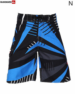 Men's Quiksilver BoardShorts Quick-Dry Black, Blue and Grey Sizes: 30 - 38
