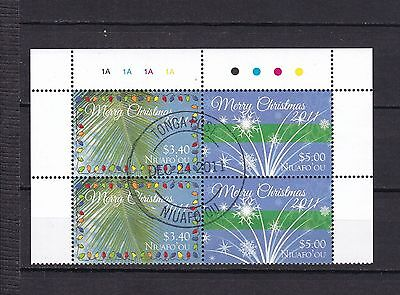 T11930 Tonga Niuafo´ou 433-434 gest./used Weihnachten christmas