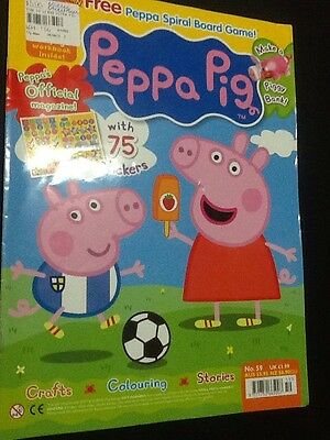 Peppa Pig Magazine Issue 59 Activities And Learning