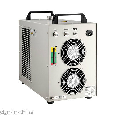 220V, 50Hz CW-5000AG Industrial Water Chiller for Single 80W/100W CO2 Laser Tube
