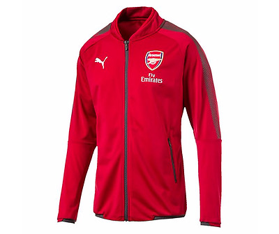 NEW Official 2017/18 Arsenal Stadium Track Jacket