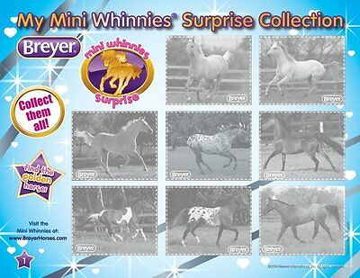 Breyer Mini Whinnies Surprise Packs One Package Per Order New Fast Free Shipping