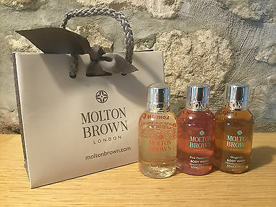 Molton Brown Ladies Gift Set (3 x 50ml) - NEW - Gift Bag Included