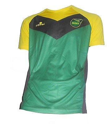 Jamaika Trikot Training 2015/16 Romai The Reggae Boyz