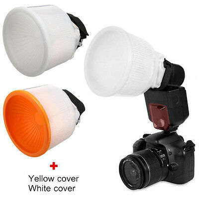 Universal Lambency Cloud Flash Diffuser Softbox Reflector with Dome Cover Kit