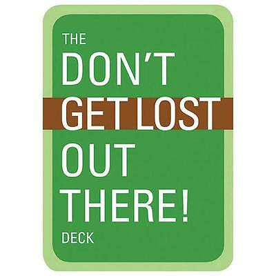 Mountaineers Books The Don'T Get Lost Deck