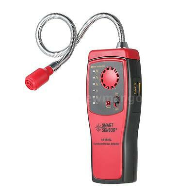 New Portable Combustible Gas Leak Detector Tester With Visual Leakage Indicator